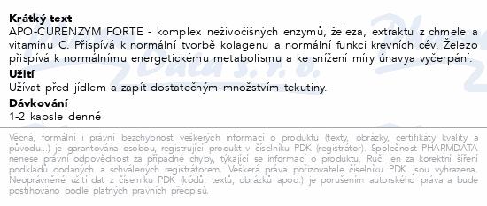 Apo-Curenzym FORTE tob.60