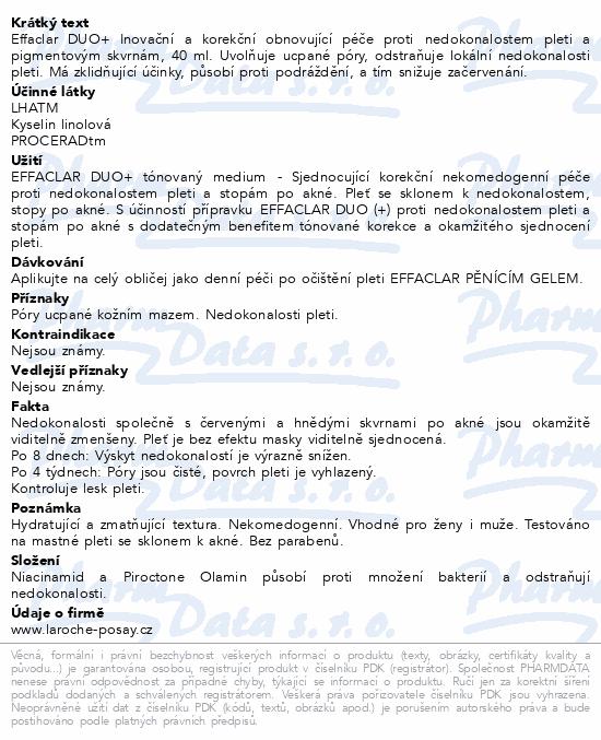 LA ROCHE-POSAY EFFACLAR DUO zabarvený-střední40ml