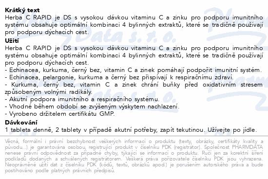 Walmark Herba-C Rapid tbl.30