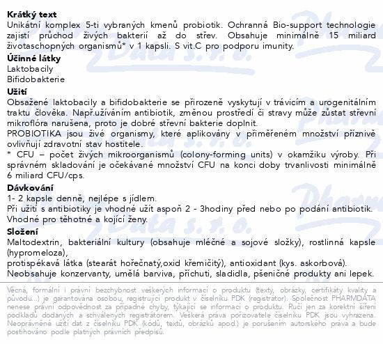 Swiss NatureVia Laktobacily 5 Imunita cps.33