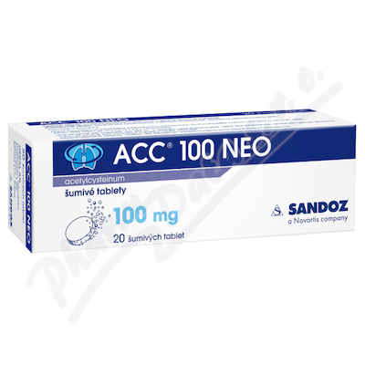 ACC 100 NEO por.tbl.eff.20x100mg