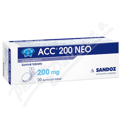 ACC 200 NEO por.tbl.eff.20x200mg