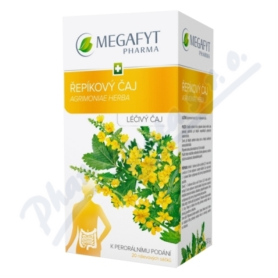 Megafyt Řepíkový čaj por.spc.20x1.5gm