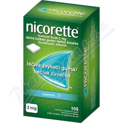 Nicorette Icemint Gum 2mg gum.105x2mg