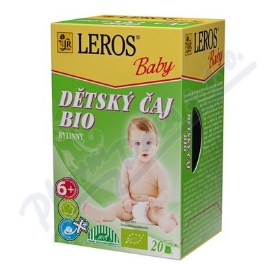 LEROS BABY BIO čaj bylinný n.s.20x2g