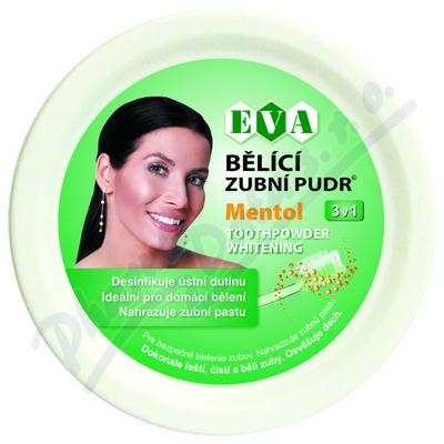 EVA Bělící zubní pudr mentol 30g 1ks