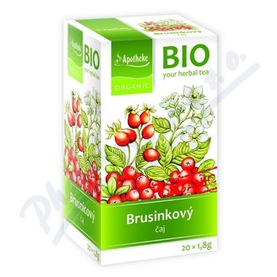 Čaj BIO Brusinkový ovocný 20x1,8g APOTHE