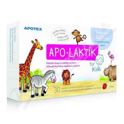Apo-Laktik žvýkací pastilky 30ks