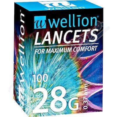 Wellion lancety 28G 100ks