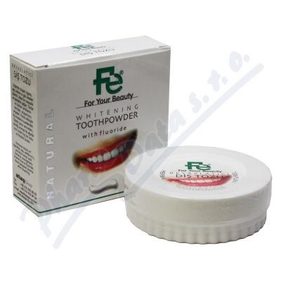 FE Bělící zubní pudr-HERBAL 50g