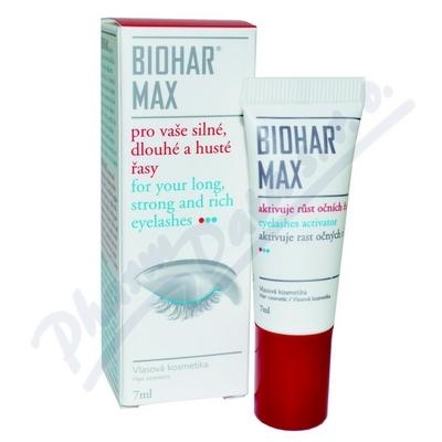 Biohar Max na řasy 7ml