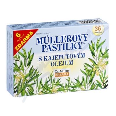 Müllerovy pastilky s kajep.ol.36ks CZ/SK