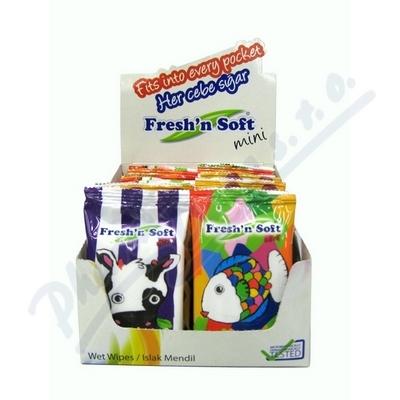 Ubrousky vlhčené mini pro děti 10ks