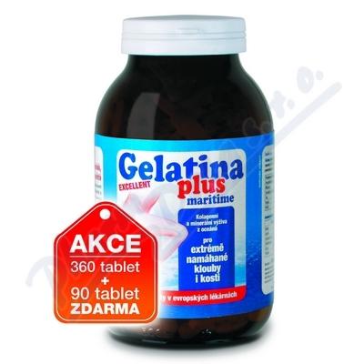 Gelatina Plus tbl.360+90 moře,kol.výživa