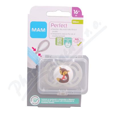 MAM Dudlík Perfect od 16+měsíců silikon