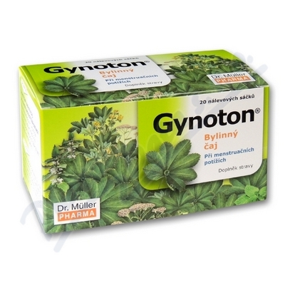 DR.MULLER Gynoton byl.čaj mens.potíže/20