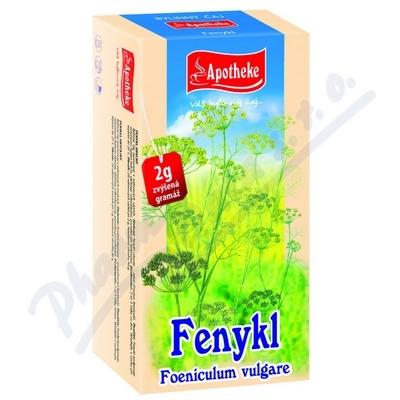 Apotheke Fenykl obecný čaj 20x2g