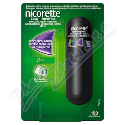 Nicorette spray 1mg/or.sp.1x13.2ml/150mg
