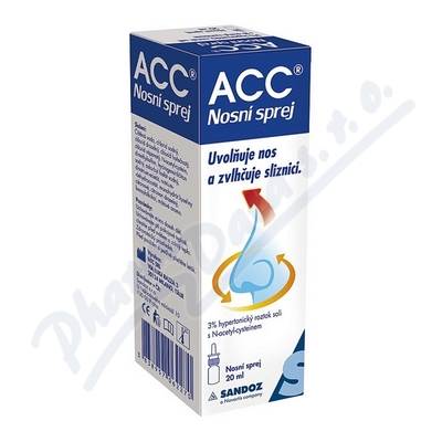 ACC nosni sprej 20ml