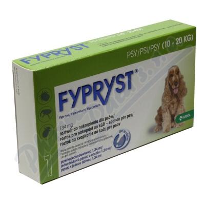 Fypryst Dogs M 1x1.34ml spot-on pro psy