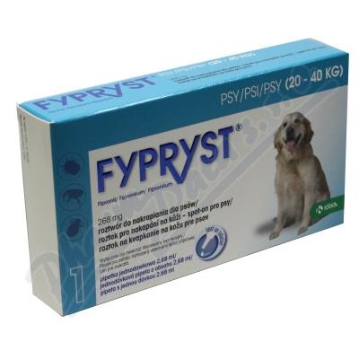 Fypryst Dogs L 1x2.68ml spot-on pro psy