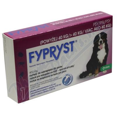 Fypryst Dogs XL 1x4.02ml spot-on pro psy