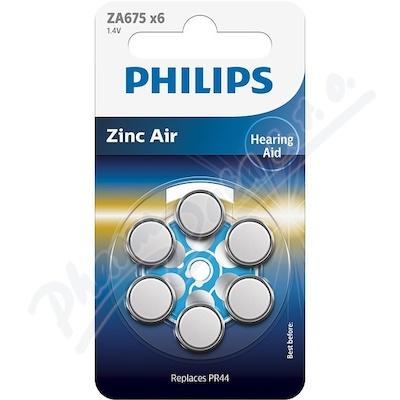 Baterie do naslouchadel PHILIPS ZA675B6A/10 6ks