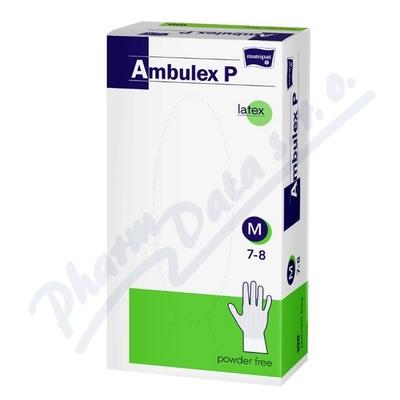 Ambulex P rukavice latex.nepudr.M 100ks