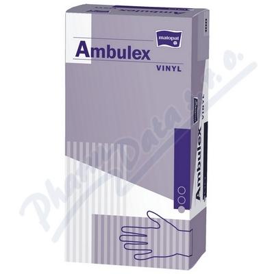 Ambulex Vinyl rukavice pudr.M 100ks