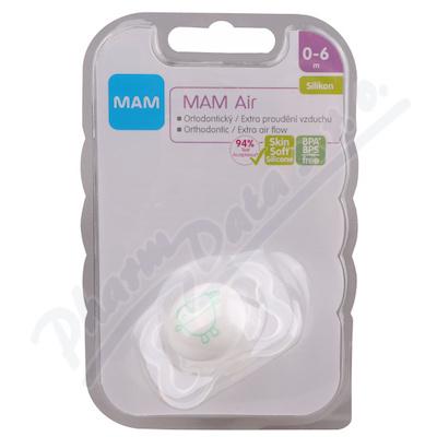 MAM Dudlík Air Mini 0-6 měs silikon 1ks