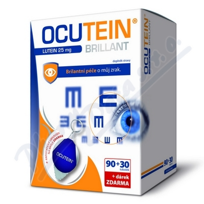 Ocutein Brill.Lutein 25mgDaVi.90+30+dáre