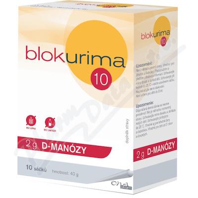 Blokurima 2g D-manózy sáčky 10x4g