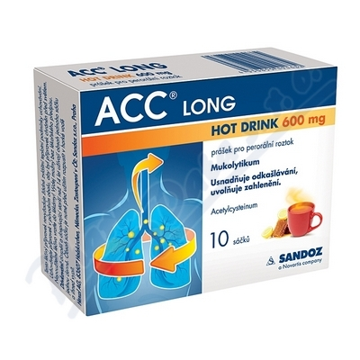 ACC Long Hot drink 600mg p.pl.s.10x600mg