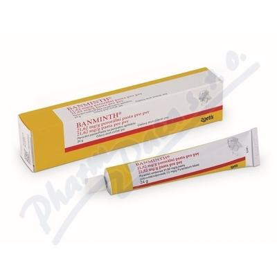 Banminth 21.62mg/g perorál.pasta-psy 24g