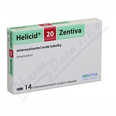 Helicid 20 Zentiva cps.etd. 14x20mg