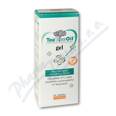 DR.MULLER Tea tree gel int. hyg.7x7,5 ml