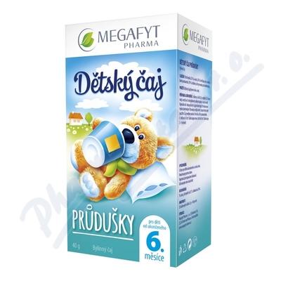 MEGA Dětský čaj průdušky 20x2 g