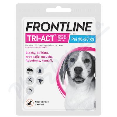 Frontline Tri-Act psi 10-20kg M spot.1x1