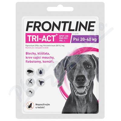 Frontline Tri-Act psi 20-40kg L spot.1x1