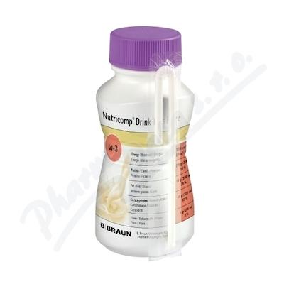 Nutricomp Drink Pl.Fibre Káva por4x200ml