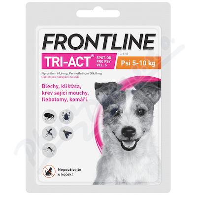 Frontline Tri-Act psi 5-10kg S spot.1x1