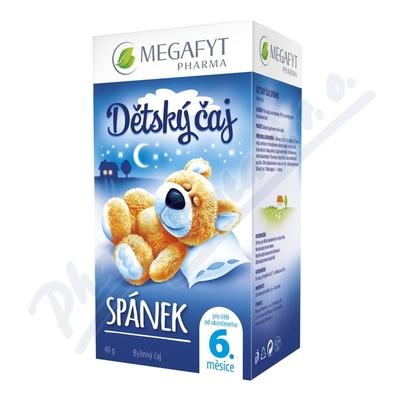 Megafyt Dětský čaj spánek 20x2g Novinka