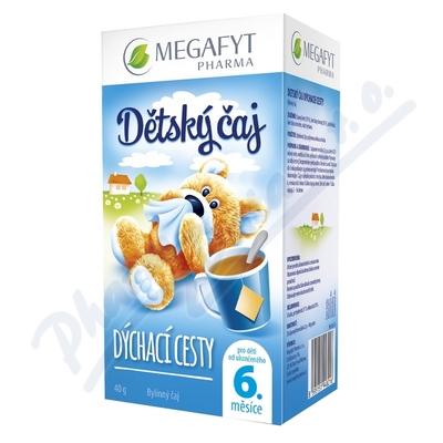 MEGA Dětský čaj Dýchací cesty n.s.20x2g