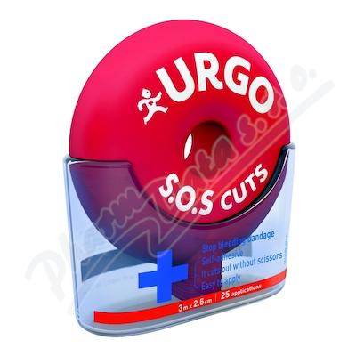 URGO SOS CUTS Samolep.obin.3mx2.5cm 1ks