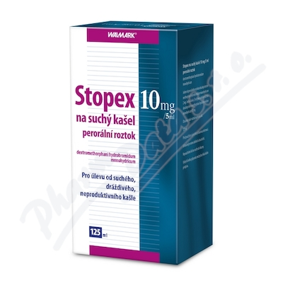 W Stopex na such.kasel 10mg/5ml 125mlsol