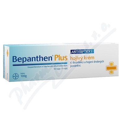 Bepanthen Plus 500mg/g+5mg/g crm.1x100g
