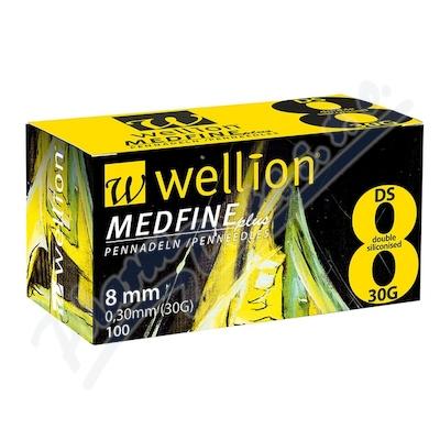 Wellion MEDFINE jehly inz.pera 0.30x8mm 30G 100ks