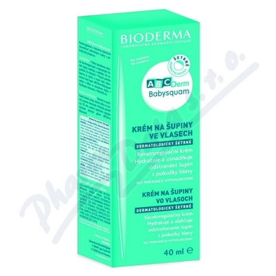 BIODERMA ABCDerm Baby Squam krém 40ml