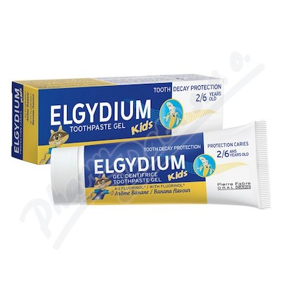Elgydium Kids gel.ZP s flu.2-6 let 50ml