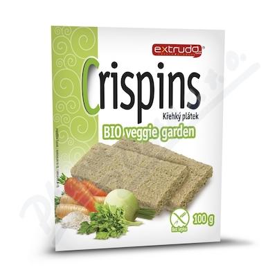 BIO veggie garden křehký plátek 100 g